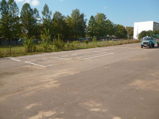 Фото Автошколы при школе имени В. И. Чуйкова в посёлке городского типа Серебряные Пруды